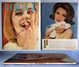 Vogue Magazine - 1963 - June